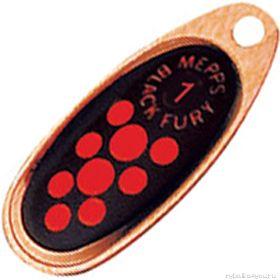 Купить Блесна Mepps Comet Black Fury цвет CU/OR / №0 2.5гр