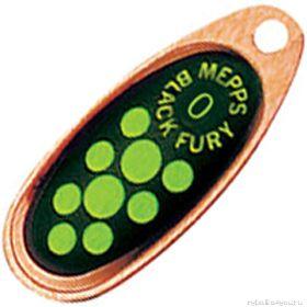 Блесна Mepps Comet Black Fury цвет CU/CH / №1 3.5гр  - купить со скидкой