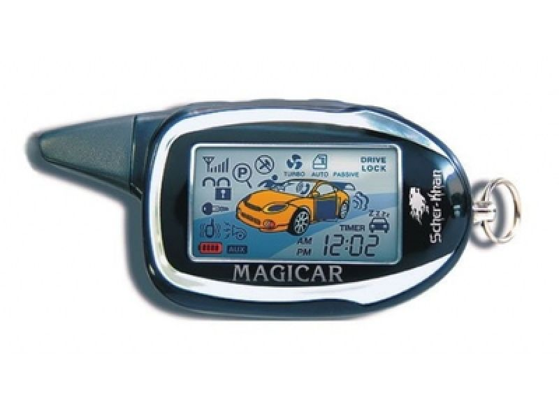 Пейджер Брелок Scher-Khan Magicar 7 Pro 2 ЖК
