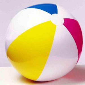 """Пляжный надувной мячик """"Цветные Полоски"""""""
