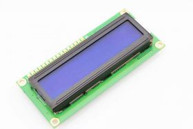 LCD Дисплей 16x2 (1602A цвет синий)