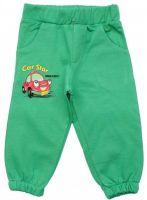 Теплые брюки для мальчика зеленые Турция Watch Me