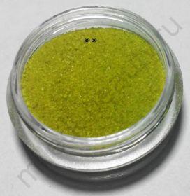 Бархатный песок, BP-09, жёлто-зелёный