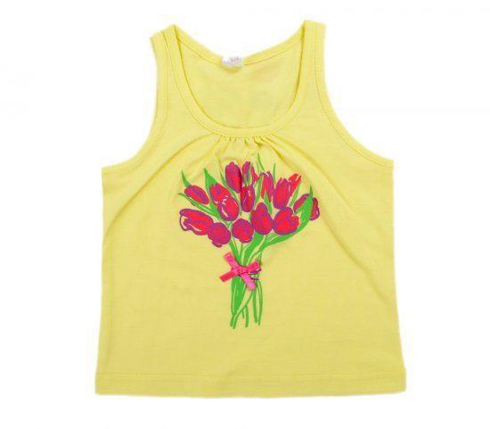 Майка для девочки Цветы