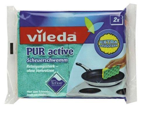 "Vileda Губка ""PUR Active"" для плит, 2 шт."""