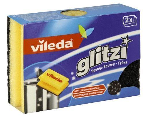 """Vileda Губка """"Glitzi"""" для кастрюль, 2 шт."""""""