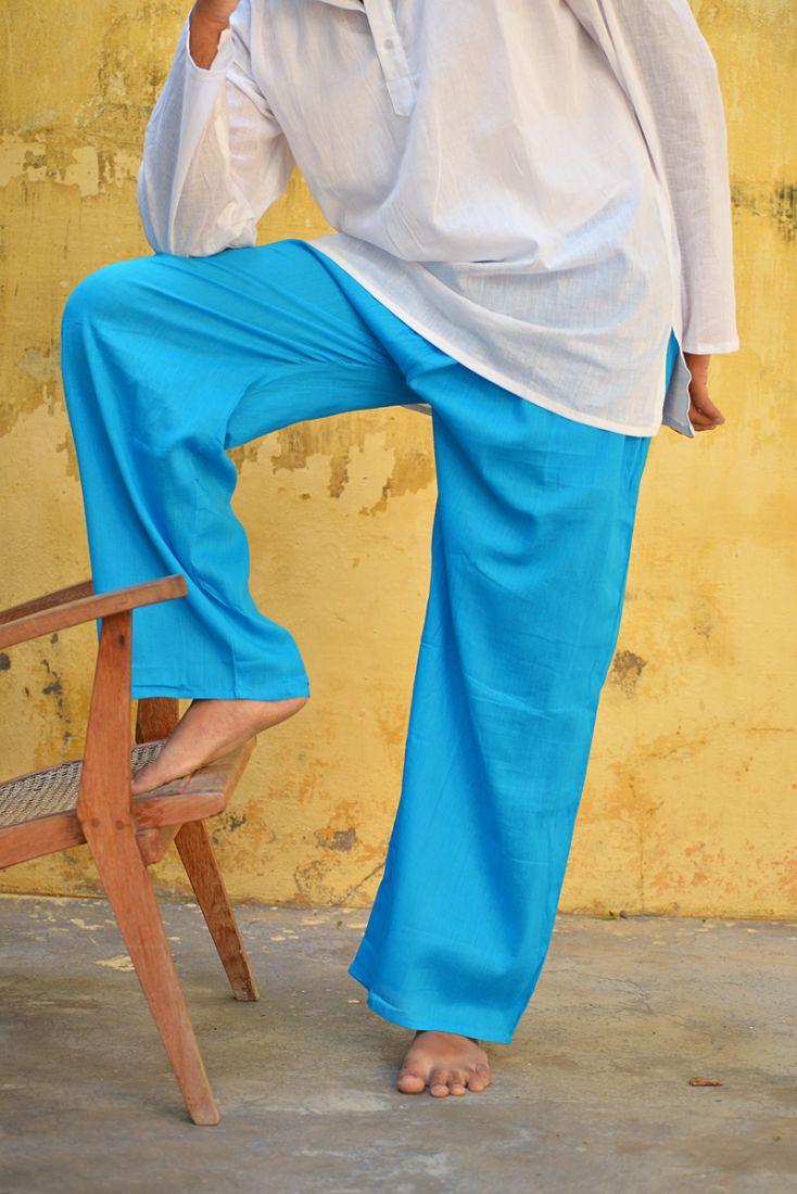 Летние прямые мужские штаны из хлопка, разные цвета (отправка из Индии)