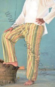 Разные цвета! Летние мужские штаны в полоску