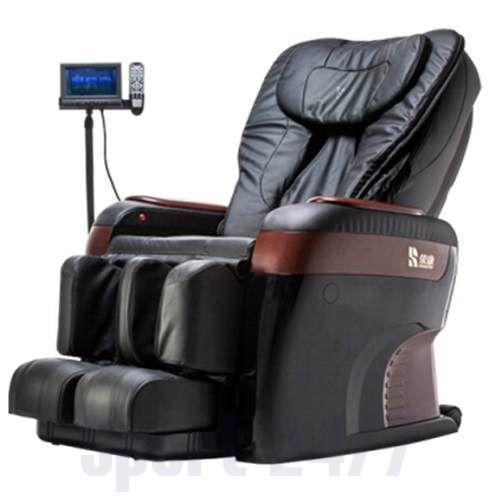 Массажное кресло Takasima VENERDI IMPERANTE из натуральной кожи