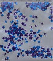 Звезды микс темно-фиолетовые и голубые  (3мм)