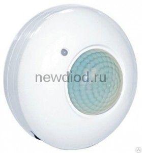 Датчик движения инфракрасный ДД-020B-W 800Вт 360 гр.6м IP33 белый