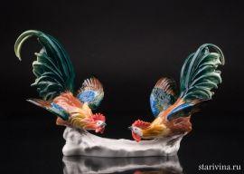 Петушиный бой (два петуха), Karl Ens, Германия., артикул 01157