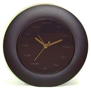 """Часы """"Английские"""" (черные)"""
