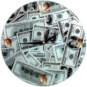 "Часы ""Доллары"""