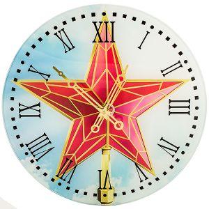 """Часы """"Кремлевская звезда"""""""