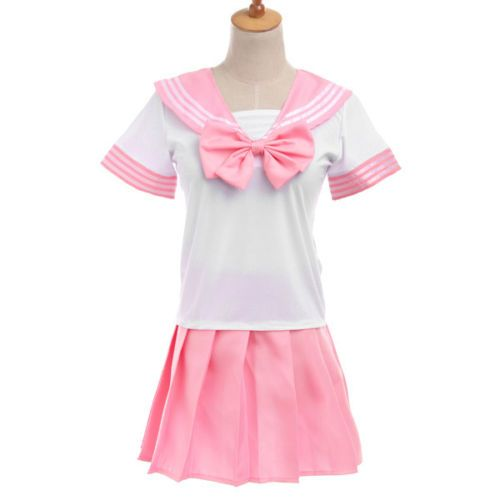 """Японская школьная форма """"Sailor Fuku"""" светло-розовая"""