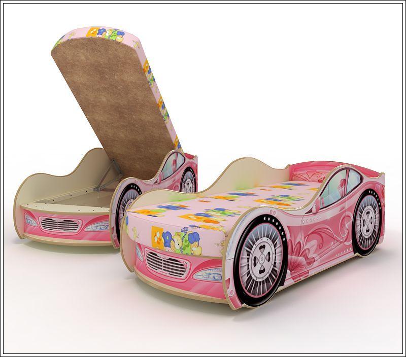 """Детская кровать-машина """"Фантазия"""""""