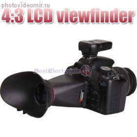 """Видоискатель (наглазник) V1 3"""" 4х3 VFinder"""