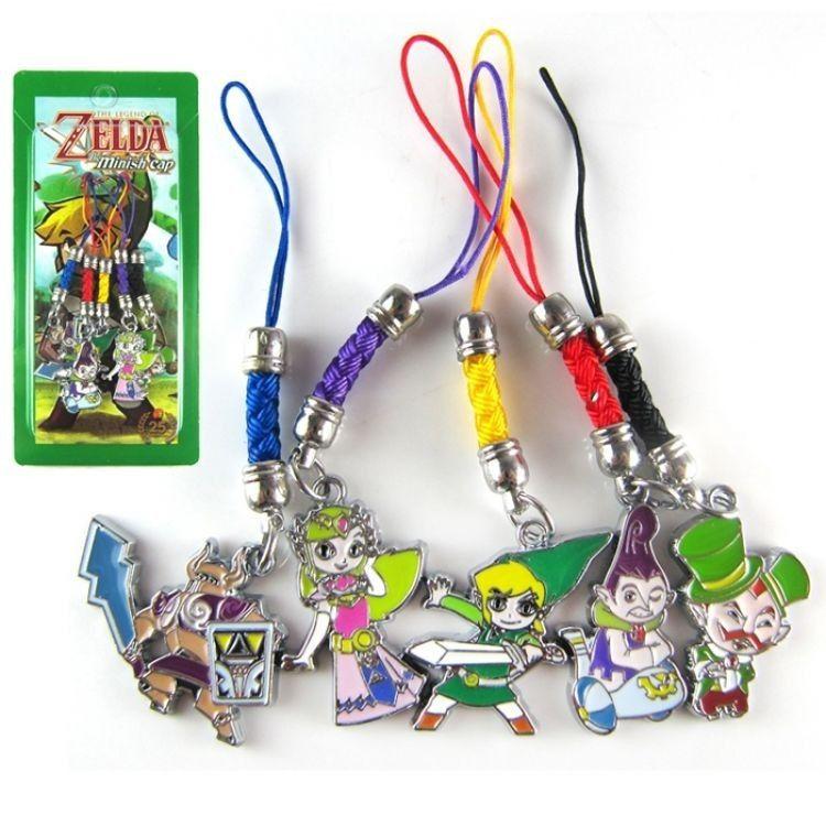 """Комплект брелков """"The Legend of Zelda"""""""