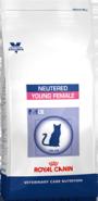 Royal Canin NEUTERED YOUNG FEMALE - Корм для стерилизованных кошек до 7 лет (1,5 кг)