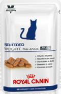 Royal Canin NEUTERED WEIGHT BALANCE - Корм для кастрированных / стерилизованных котов и кошек, склонных к избыточному весу (100 г)