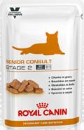 Royal Canin SENIOR CONSULT Stage 2 - Корм для котов и кошек старше 7 лет, имеющих видимые признаки старения (100 г)