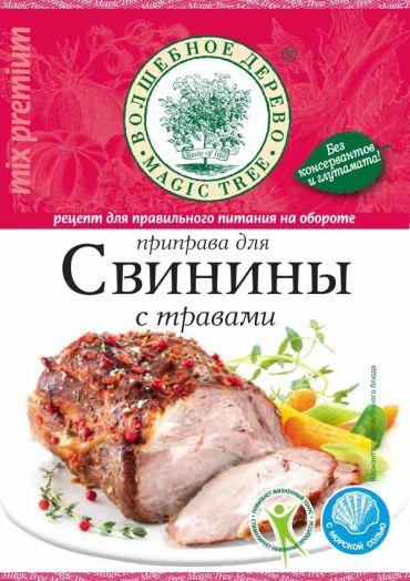 ВД Приправа для свинины с травами и морской солью 30г