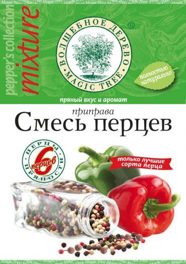 """ВД Приправа """"Смесь перцев"""" молотая с морской солью  30г"""