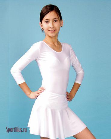 Гимнастическая юбка с широким поясом