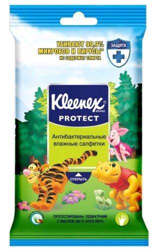 """KLEENEX салфетки влажные """"Дисней"""" антибактериальные, 10 шт."""