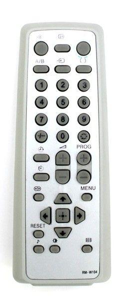 Пульт для Sony RM-W104 (TV) (KV-21BT80M, KV-21HW83M, KV-AR14M80, KV-AR29T80C, KV-AR29X80C, KV-AR34M80B, KV-BM142M70, KV-BT142M70, KV-BT212M70)