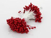 тычинки жемчужные красные