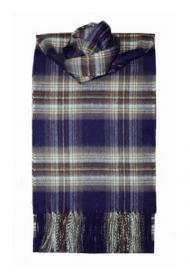 шарф 100% драгоценный кашемир , расцветка дворца Холируд Holyrood