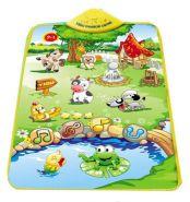 """Музыкальный игровой коврик для детей """"Веселая ферма"""""""