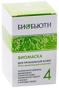 Биобьюти Биомаска «Для проблемной кожи», Формула 4, 50 гр.