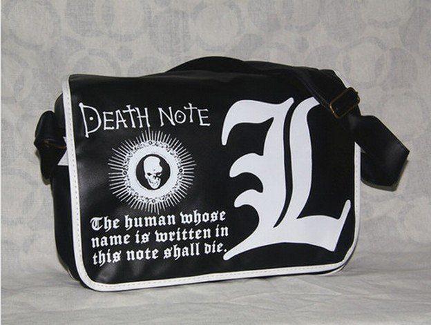 Аниме сумка Death Note Black ver.