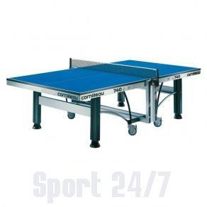 Теннисный стол профессиональный CORNILLEAU COMPETITION 740 W, ITTF (синий) ST-117400