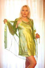 """Ночная сорочка с халатиком """"Делиа"""" Зеленый"""