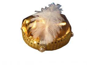 Шляпа арабского шейха золотистая