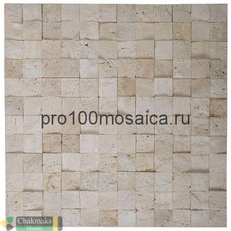 POPCORN Бесшовная Мозаика 3D  Fusion Stone, 296*296 мм (CHAKMAKS)