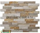 POROUS Бесшовная Мозаика 3D  Fusion Stone, 302*280 мм (CHAKMAKS, Турция)