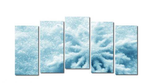 Модульная картина Снег