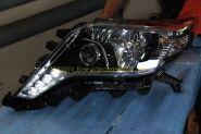 Передняя альтернативная оптика для Toyota Land Cruiser Prado 2013-
