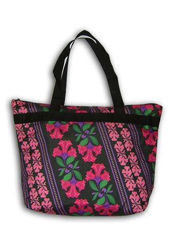 "Пляжная сумка ""ПодЪполье"" Pink flowers"