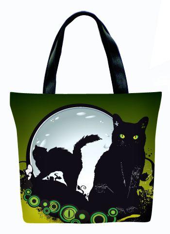 Женская сумка ПодЪполье Black cat