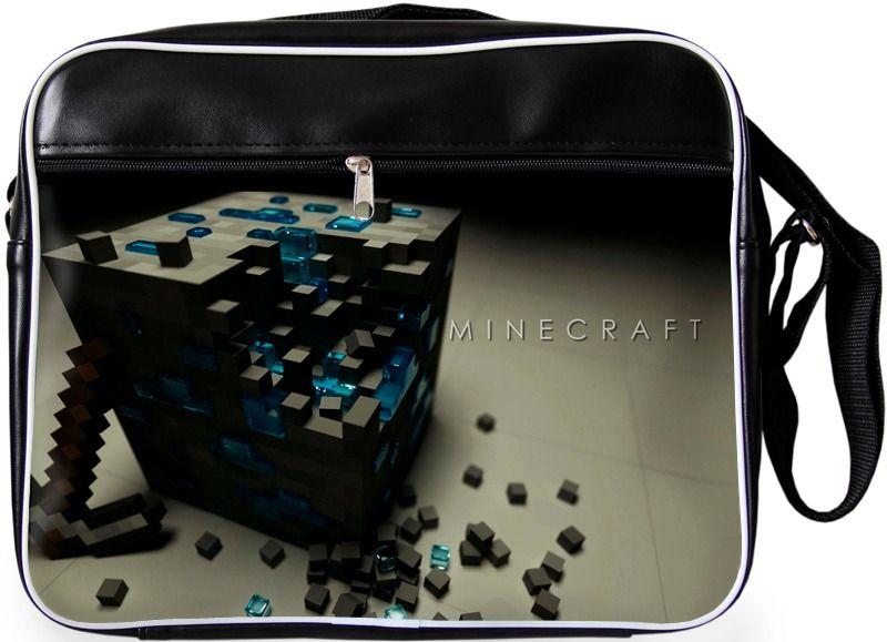"""Молодежная сумка """"ПодЪполье"""" Minecraft-12"""