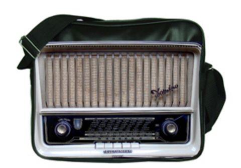 """Молодежная сумка """"ПодЪполье"""" Old radio"""