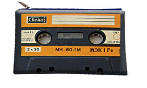 """Косметичка """"ПодЪполье"""" Audiocassette"""