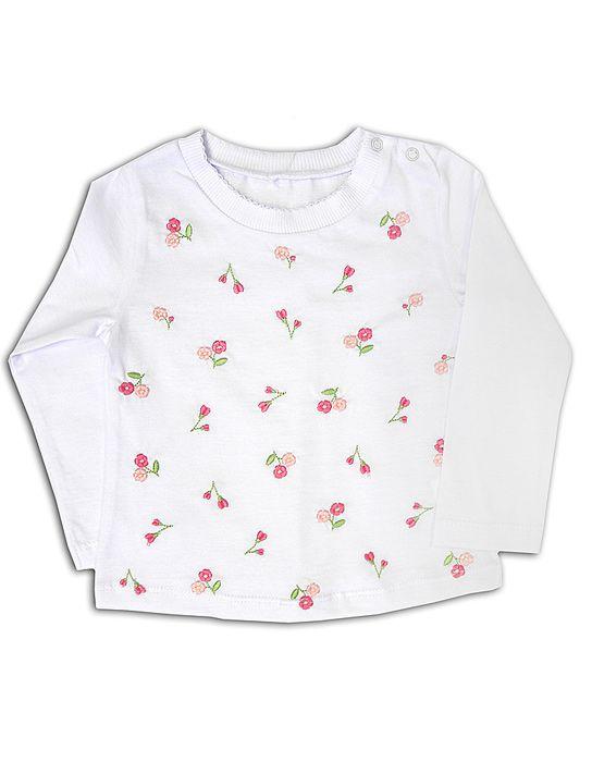 Блуза для девочки Незабудки