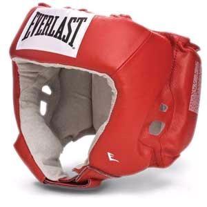 Шлем боксёрский Everlast USA Boxing красный, р. XL, артикул 610600U